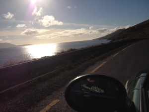 Driving into Dingle on Saturday
