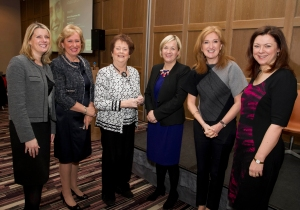 The Insurance Institute Women in Business event, International Women's Day, 2014, Dublin.