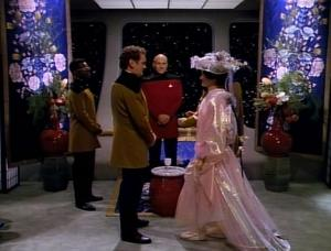 What's a wedding without the Next Generation?! * *This Star Trek joke is an anniversary present to my husband.*